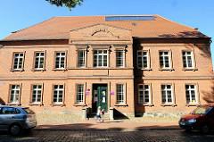 Gebäude Probstei Parchim in der Lindenstrasse.