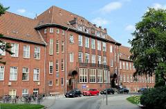 Ehem. Gebäude für die Theoretischen Institute / Forschungslaboratorium; Eppendorfer Krankenhaus - Entwurf Fritz Schumacher, fertig gestellt 1926.
