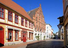 Bilder aus Parchim, Mecklenburg-Vorpommern. Architekturbilder der Sehenswürdigkeiten der Stadt.