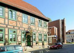 Historisches Fachwerkhaus - Gasthaus zum Heiligen Geisthof.