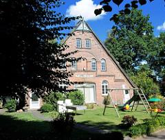 Ehem. Bauernhof Carl Hinsch 1872 - Stadtteil Hamburg Alsterdorf.