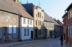 Wohnhäuser in der Schmiedestrasse von Lübz.