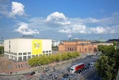 Luftaufnahme Hamburg St. Georg - Blick auf die Galerie der Gegenwart und die Hamburger Kunsthalle am Glockengiesserwall.