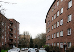 Wohnen in Hamburg Horn - mehrstöckige Wohngebäude Hertogenstrasse