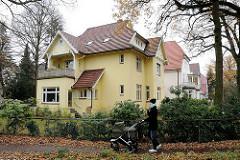 Wohnen in Hamburg Villa in Gross Flottbek Strassweg.