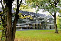 Gebäude Sportpark Dulsberg - Bilder aus den Hamburger Stadtteilen.