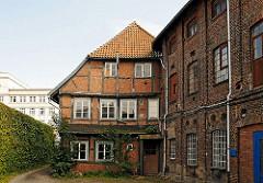 Harburgs Archtetkurgeschichte - Bornemannsche Haus in der Schlossstrasse.