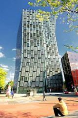 Hamburgs Architektur - Hochhäuser in der Hansestadt Hamburg - Tanzende Türme am Millerntorplatz / Reeperbahn. Architekt Hadi Teherani; Archtektenbüro Bothe Richter Teherani.