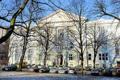 Hamburger Logenhaus, Moorweidenstrasse - Sitz der Provinzialloge von Niedersachsen.