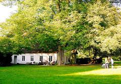 Witthüs im Nienstedtener Hirschpark - in dem Haus wohnte Hans Henny Jahnn bis zu seinem Tode.