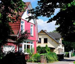 Einzelhäuser in Hamburg Lokstedt - Fotos aus den Stadtteilen Hamburgs.