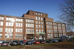 Kontorhäuser und Gewerbehäuser in Hamburg Hamm - Wedenstrasse Hansaburg.