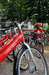 Hamburg Winterhude - Goldbekplatz - StadtRAD Fahrräder Standort.