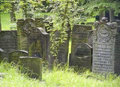 Jüdischer Friedhof Hamburg Altona - Königsstraße.