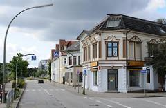Architektur des Historismus - Gründerzeit ARchitektur Oldenfelder Strasse Ecke Grubesallee.