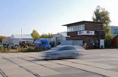 Hamburger Strassenverkehr Moorfleeter Strasse - Güterbahnhof.