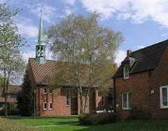 Kirchen in Hamburger Stadtteilen - Hamburg Langenhorn - Broder Hendrik Kirche.