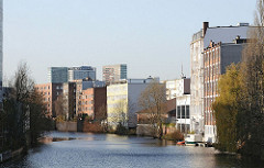 Hamburg Hamm Süd - Gewerbegebiet am Mittelkanal.