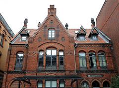 Bilder von historischen Bauten in Hamburg Altona - Altona Altstadt - ehemalige Volksküche der Speiseanstalt für Dürftige und Arme, erbaut 1880.