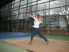 Alsterdorfer Leichtathletikhalle Hamburg