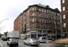 Altes Wohnhaus - Mehrstöckiges Gebäude, Spaldingstrasse - Hamburg Hammerbrook.