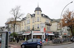 Geschäfte - Einkaufsmöglichkeiten Hamburg Groß Flottbek, Beselerplatz Waitzstrasse.