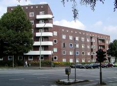 Wohnblock am Habichtplatz, Dulsberg Bezirk Hamburg-Nord.