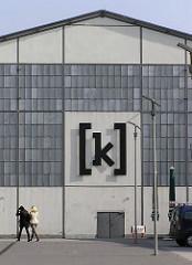 Logo [ K ] von Kampnagel - Theater Tanz und Performance Veranstaltungen / ehem. Maschinenfarbrik.