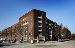 Klinkergebäude Wohngebiet Hamburg Hamm Süd - Wendenstrasse.
