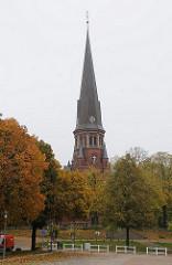 Stadtteil Billstedt - Steinbeker Kirche Steinbeker Markt.