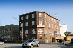 Bilder aus den Hamburger Bezirken - Fotos aus dem Stadtteil Hamm Süd - Polizeiwache Hammer Deich - Architekt Fritz Schumacher - Oberbaudirektor in Hamburg.