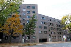 Neubau am Winterhuder Weg - Areal des ehem. Röhrenbunkers.