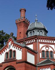 Hamburger Architektur in den Stadtteilen Alsterdorfer Strasse Altes Krematorium