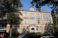 Historisches Schulgebäude - Schule am Lehmweg Ida Ehre Gesamtschule.