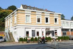 Historisches einstöckiges Gebäude Elbstrasse.
