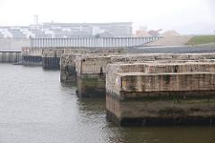 Reste U-Bootbunker Finke II - Denkmal Erinnerung Weltkrieg.