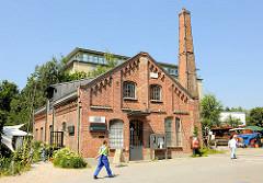 Kulturzentrum Zinnschmelze Hamburg Barmbek Nord auf dem Gelände des Museums der Arbeit.