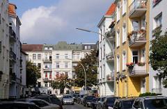 Etagenhäuser im Generalsviertel - Gründerzeit Architektur Gneisenaustrasse Hoheluft West.