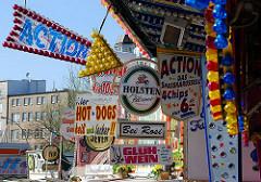 Hamburger Dom - Jahrmarkt auf dem Heiligengeistfeld im Stadtteil St. Pauli - Hamburgfotos.