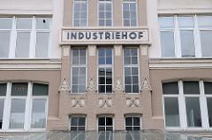 Industriehof - Hammerbrookstrasse.