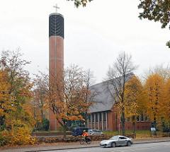 Zwoelf Apostel Kirche Kirchengemeinde Hamburg Lurup, Elbgaustrasse.