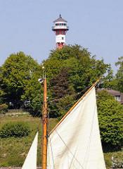 Oberfeuer Tinsdal - Leuchtturm unter Denkmalschutz.