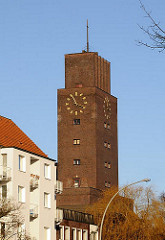 Bilder Hamburger Kirchenarchitektur - Bugenhagenkirche Barmbek Süd