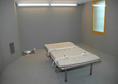 Bilder aus der JVA Billwerder - Beruhigungsraum / Gummizelle.