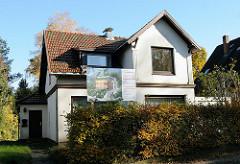 Einzelhaus - Wohnen in den Hambuger Vororten - Stadtteil Wellingsbüttel - Hoheneichen.