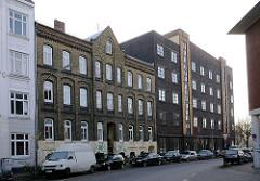 Historische Bebauung Altonas - Bilder aus der Hartkortstrasse