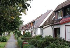 Häuser der Siedlergemeinschäft Am Radeland eV. Zum Fürstenmoor.