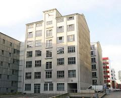 Historischens Speichergebäude an der Wendenstrasse - Stadtteil Hammerbrook.