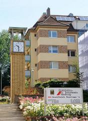 Wohngebäude - Wohnanlage Rosentreppe des Eisenbahn Bauvereins Harburg.