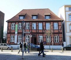 Historisches Amtsgebäude des Kurfürstentums Hannover in Hamburg Harburg, Neue Strasse